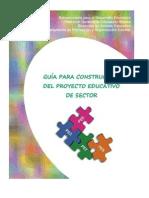 Guía Para La Construccion Del PES 2014-2015
