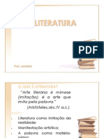 1. O Que é Literatura - Resumo