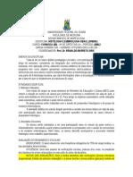Histologia e Embriologia Geral - 2009.2
