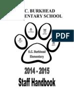 staff handbook 2014 15