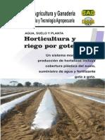 Horticultura Riego Por Goteo 2013