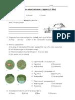 ecology interaction quiz reg