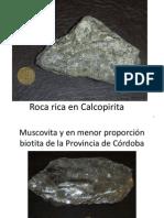 Muestras de Rocas y Minerales