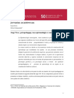 Jorge Visca Psicopedagogo Cuya Epistemologia Es Convergente Por Silvia Schumacher