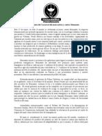 Pronunciamiento 2013