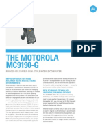 MC9190 G Specification