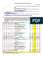 European Central Bank - Financial statement and Monetary Policy