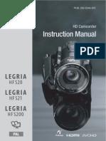CanonLegriaHFS200 Full Guide
