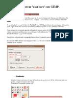 Tutorial para crear userbars con Gimp