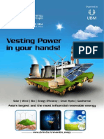 Renewable Energy Expo Details