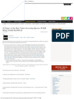 25 Pages of the Best Value Investing Quotes (PAGE WILL LOAD SLOWLY) _ ValueW