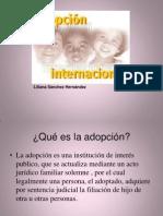 Adopción Internacional