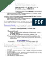 13.11.2013 - 1Anunt Pt Licenta Si Disertatie IULIE 2014