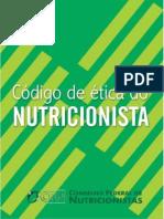 código ética nutrição