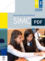 Informe Nacional Simce 2009