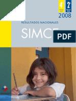Informe Nacional Simce 2008