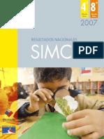 Informe Nacional Simce 2007