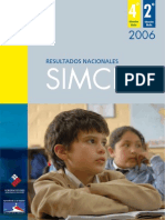 Informe Nacional Simce 2006