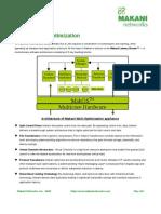 Makani WAN optimization and application acceleration