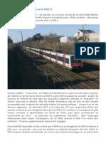 M I 84 Nouvelle Tentative Sur Le RER E 4 Juin 2014