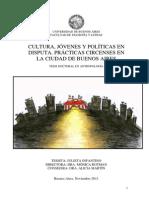 Cultura, Jóvenes y Políticas en disputa. Tesis Infantino. Final (1).pdf