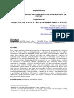 A INFLUÊNCIA DA ESCOLA NA ALIMENTAÇÃO E NA ATIVIDADE FÍSICA DA.pdf