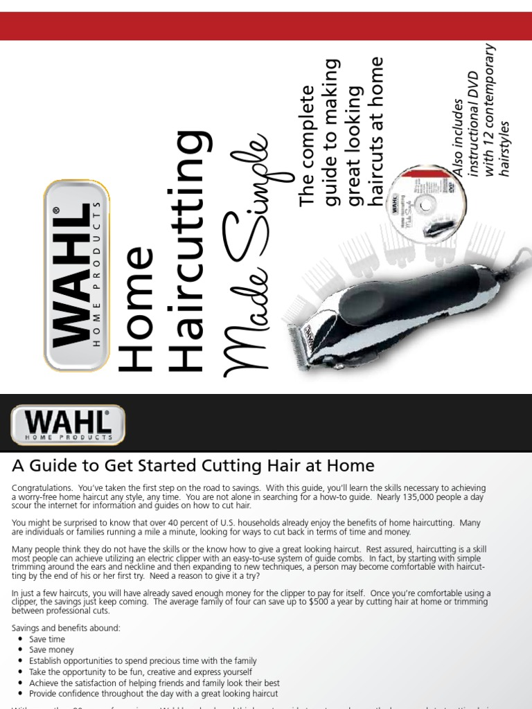Wahl Home Haircutting  Hairstyle  Hair
