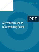 A Practical Guide to B2B Branding Online