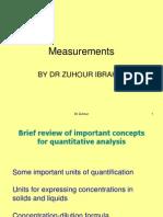 Lecture 6 Measurments