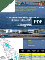 6- La Gobernabilidada Del Agua en El Sistema Hídrico Tdps. Dr. Luis Sanchez