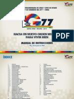 Manual de Instrucciones G77