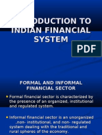INTRODUCTION TO INDIAN FINANCIAL SYSTEM