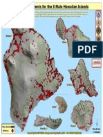 Hawaii State Wildfire History Map