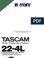 Hfe Tascam 22-4l en de Fr-1