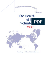 The Health of the Volunteer 2001