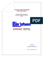 Calculo de Carga Termica - CHVAC