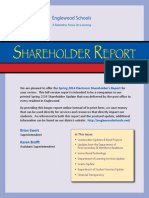 Englewood Schools Spring 2014 Shareholder Report