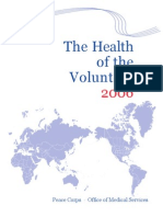 The Health of the Volunteer 2006 Peace Corps Annual Report of Volunteer Health  HOV_2006