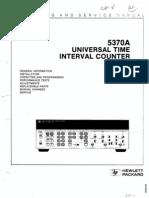 HP 5370A