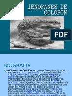 JENOFANES DE COLOFON