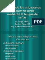 Adecuando Las Asignaturas Del Alumno Sordo x LSM