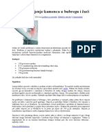 Lijek Za Topljenje Kamenca u Bubregu i Žući