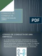 Diferentes Codigos de Conducta