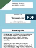 9 Hidrograma y Caudal