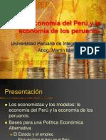 Semana 8 - La Economia Del Peru