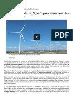 ENERGÍA Un Proyecto Desarrollado en Las Islas Canarias