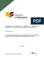 Manual - Guía de Llenado de Ficha Metodológica de Información TIC en IE