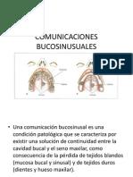 COMUNICACIONES BUCOSINUSUALES