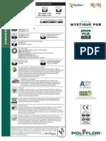 Especificaciones Vinil Polyflor Mystique Pp Oct 2013
