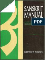 Bucknell, Roderick - Sanskrit Manual